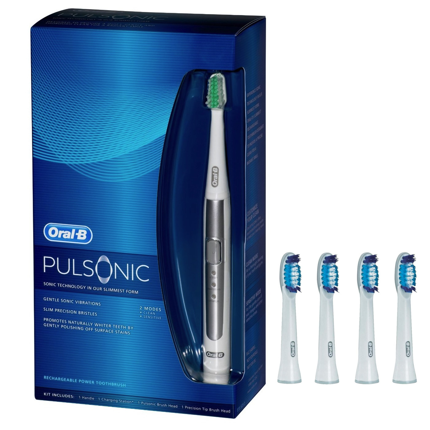 Oral-B Braun Pulsonic compatible opzetborstels